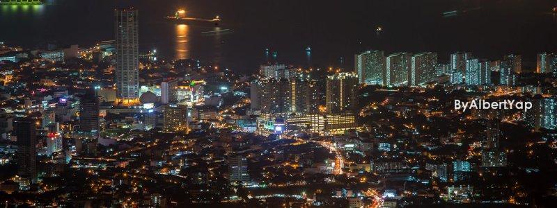 Night Cityscape, Penang